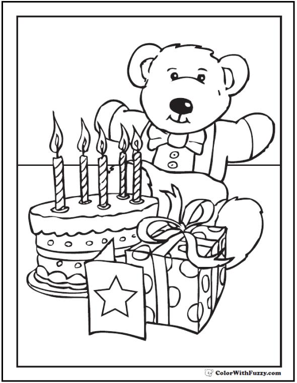 birthday party coloring sheets ; happy-birthday-coloring-pages
