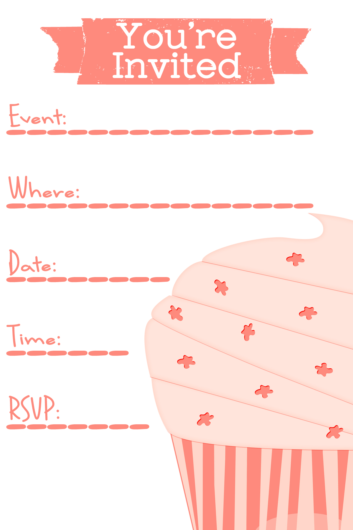birthday party design templates ; free-party-invitation-template