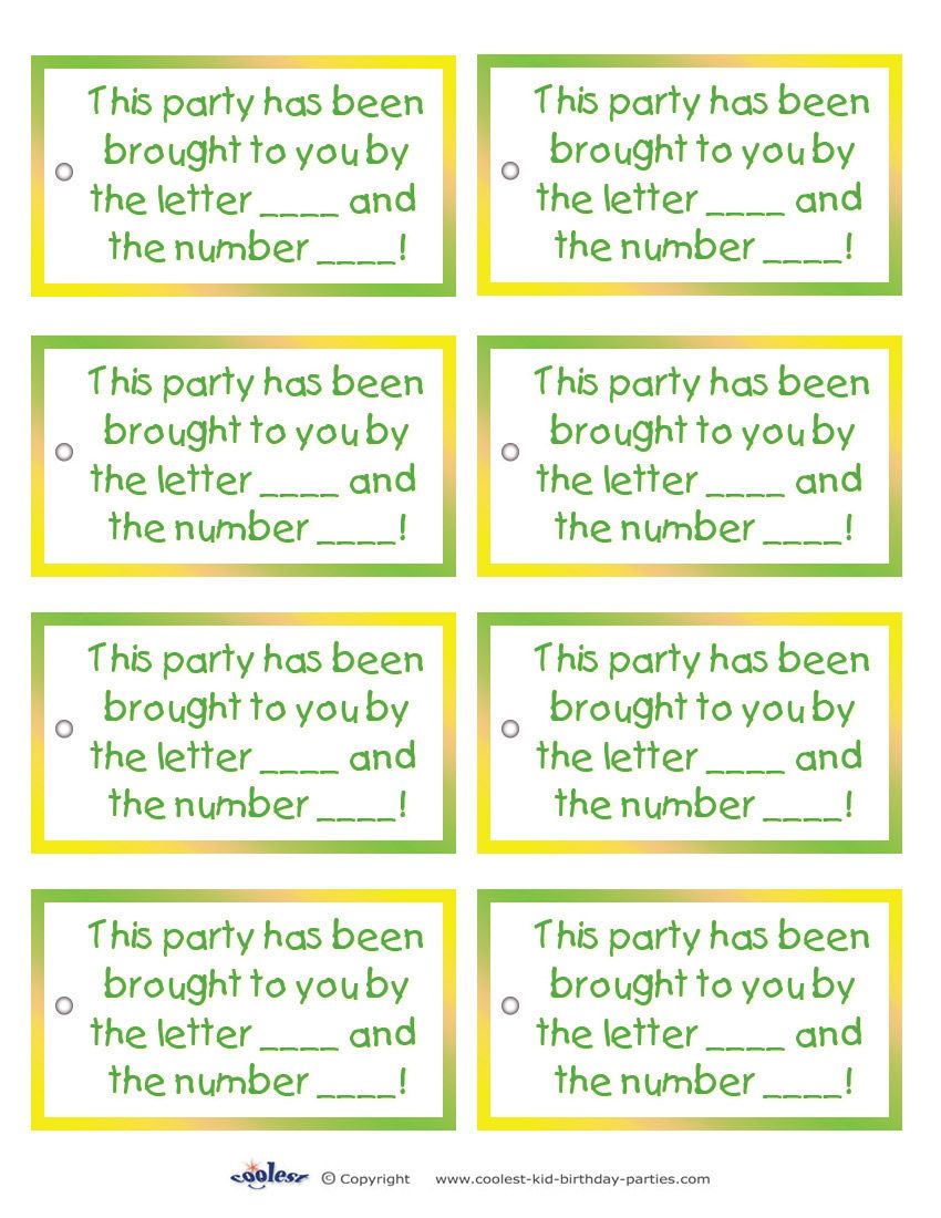 birthday party favor tags printable free ; 3b93a8b9deee152ec76abe8e0a63243b