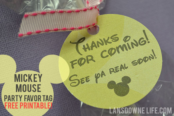 birthday party favor tags printable free ; mickey-mouse-tag