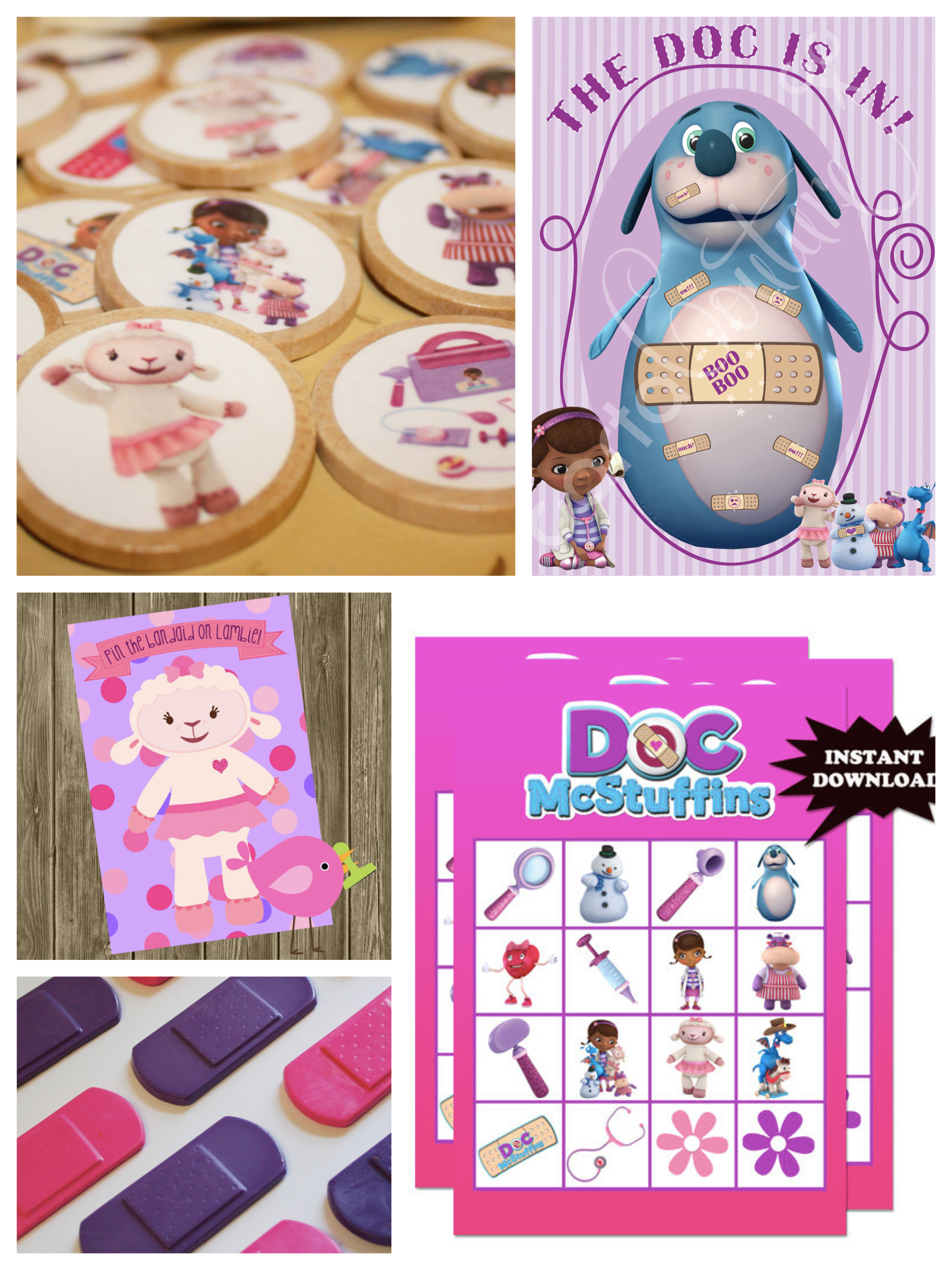 birthday party games and activities ; Doc_McStuffins_Birthday_Party_Games_Activities