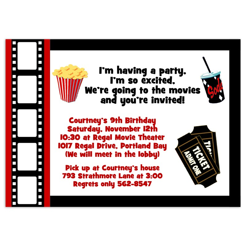 birthday party invitation templates movie theme ; movie-party-invitation-template-is-the-best-theme-to-forge-your-magnificent-Party-invitations-18
