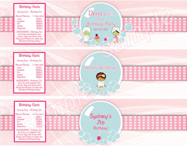 birthday party labels ; 199ce509affe282ea0d00cda688cb389