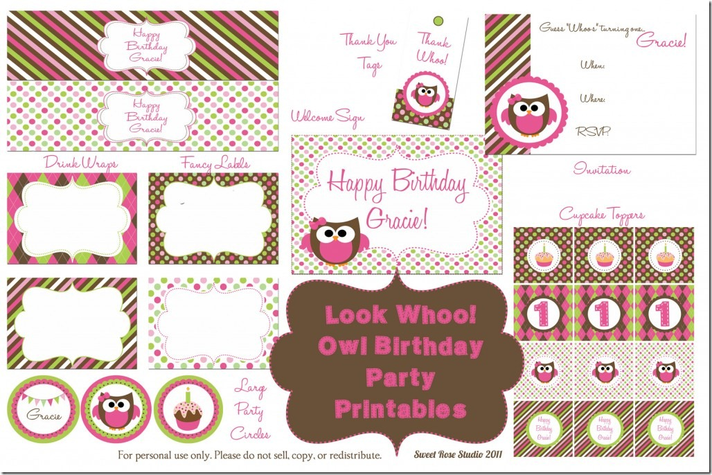birthday party labels ; Owl-Birthday-party-free_printables_thumb
