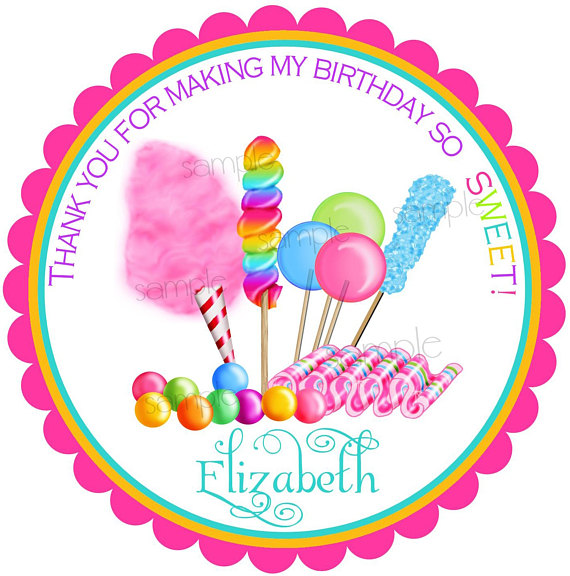 birthday party labels ; il_570xN