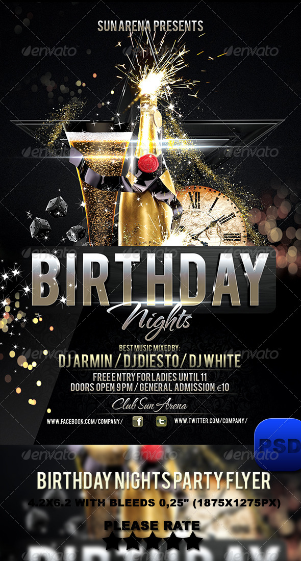 birthday party poster design ; 36130605f20a0efdc54778df84ce3042