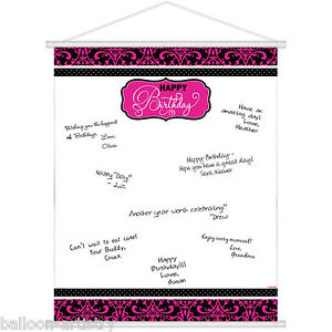 birthday party sign in sheet ; s-l300