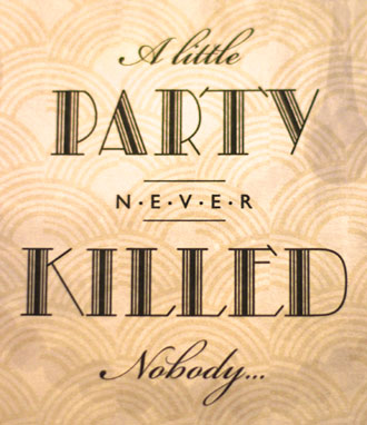 birthday party signs ; gatsby_birthday_party_signs