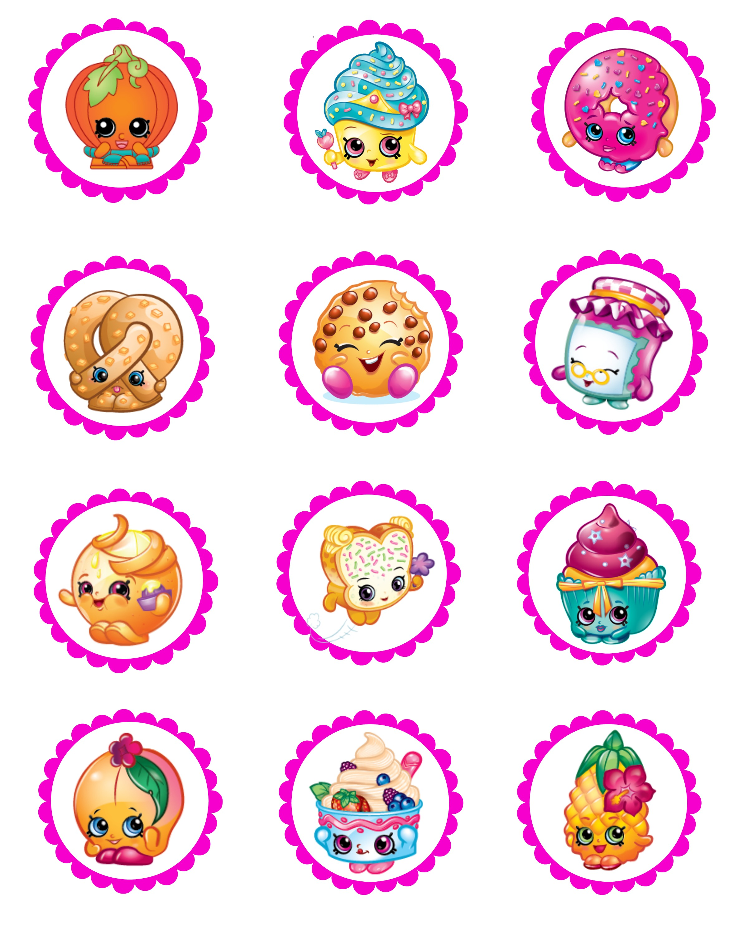 birthday party stickers printables ; shopkins-2