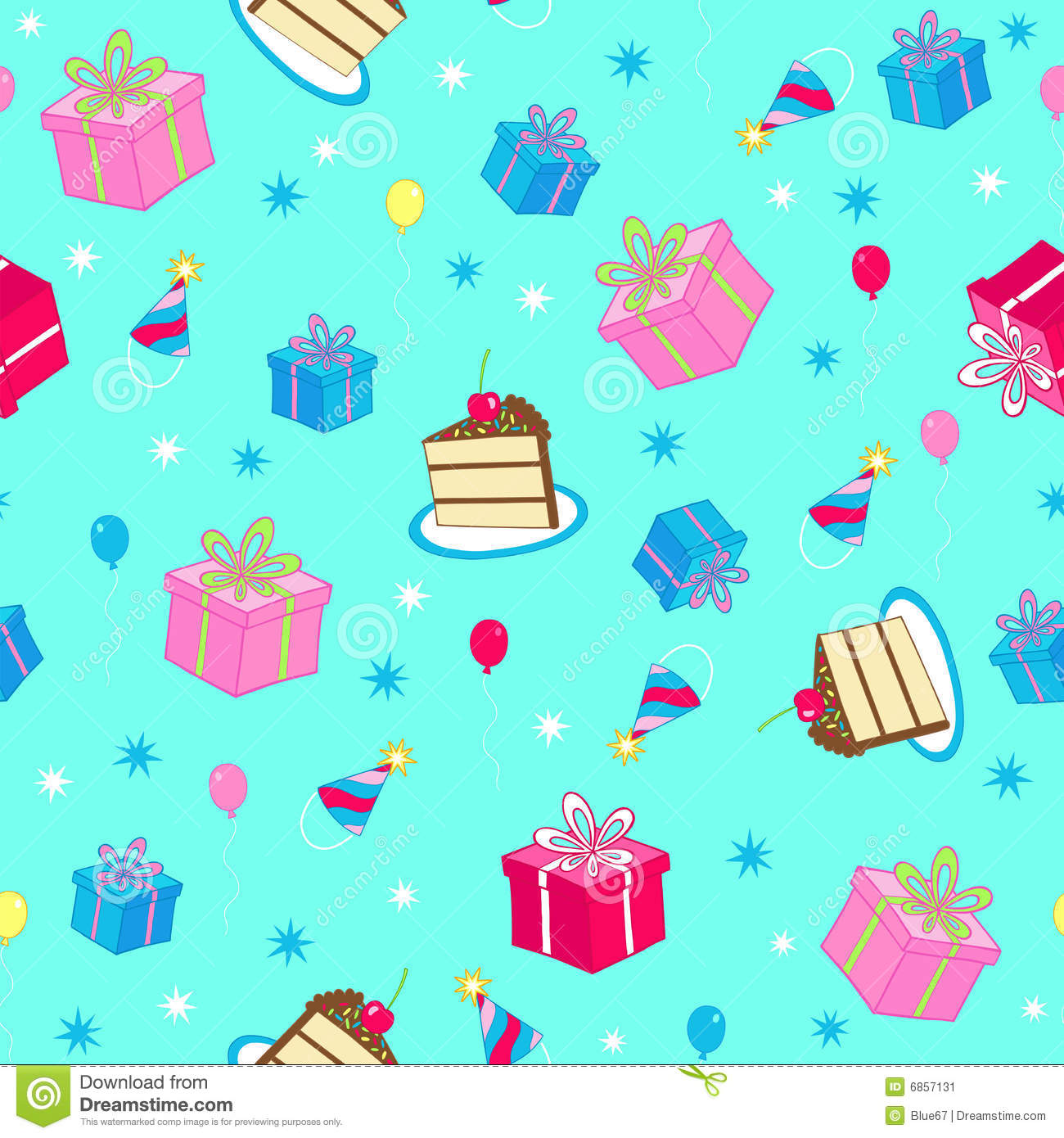 birthday party wallpaper background ; birthday-party-seamless-repeat-pattern-vector-6857131