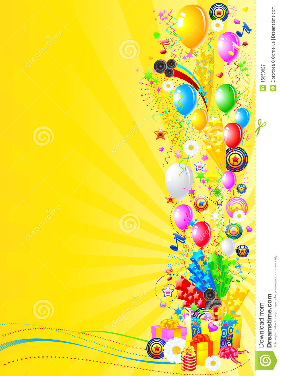 birthday party wallpaper background ; celebration_party_background_15653827_6