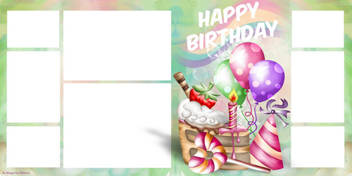 birthday photo album design templates ; 1457435593_png_images5