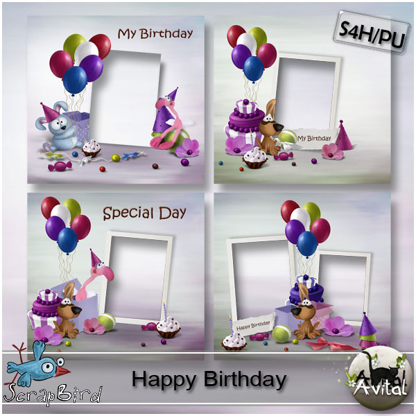 birthday photo album design templates ; 9bb1b705eee53795dd47271008871474