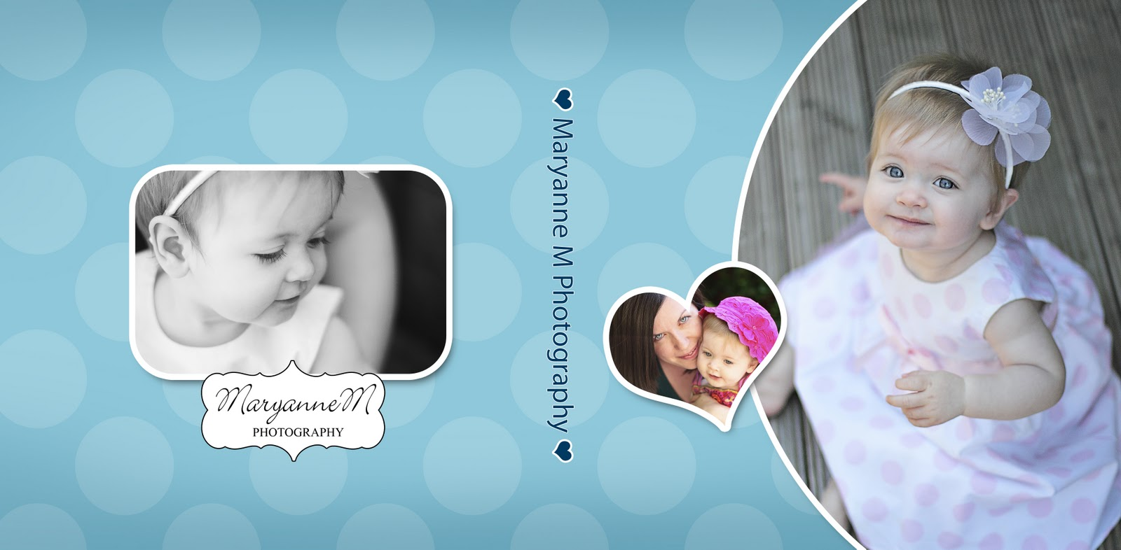 birthday photo album design templates ; OhBaby_CDCase_Single