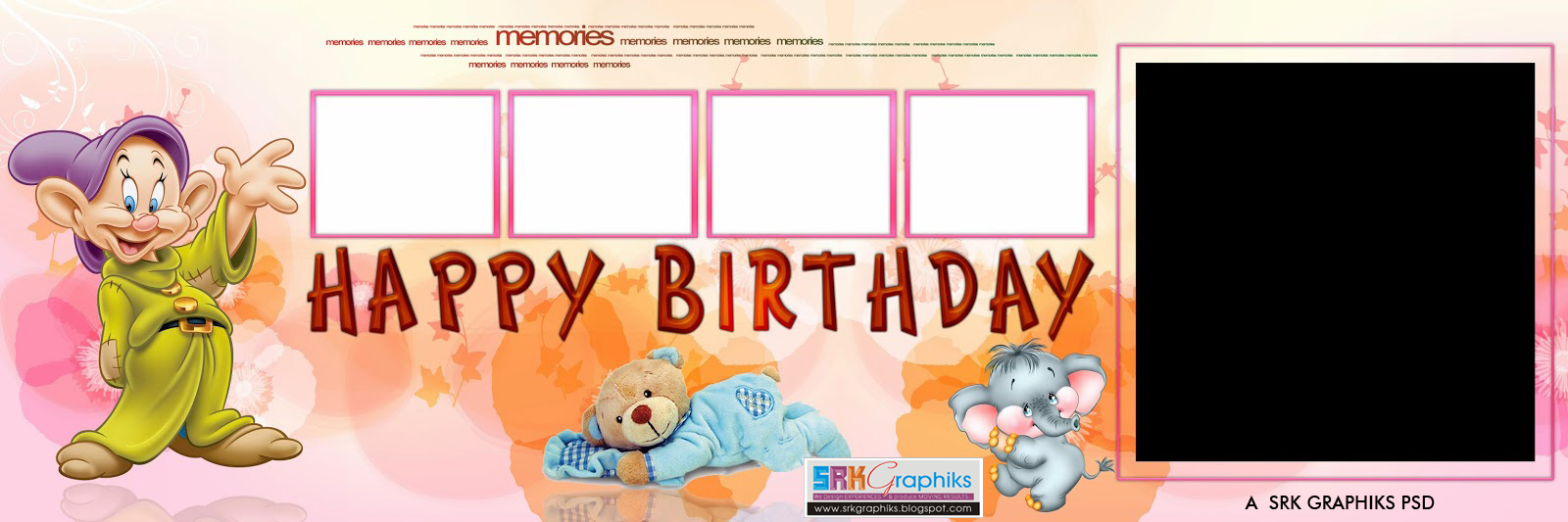 birthday photo album design templates ; photo-album-design-background-birthday-13