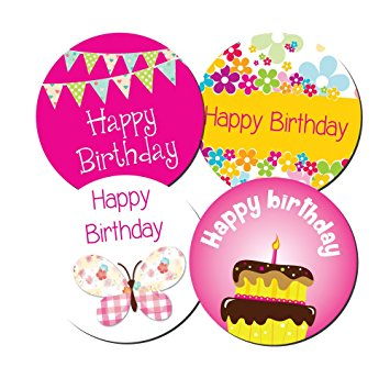 birthday photo stickers ; 71RNc8Hf%252BLL