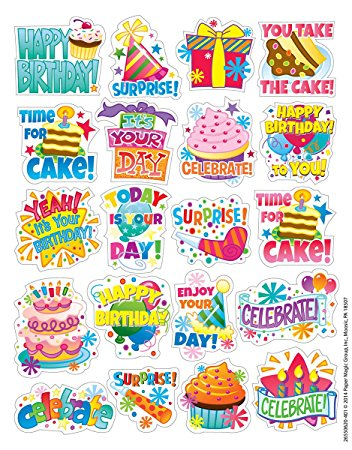 birthday photo stickers ; 81KKB8boPnL