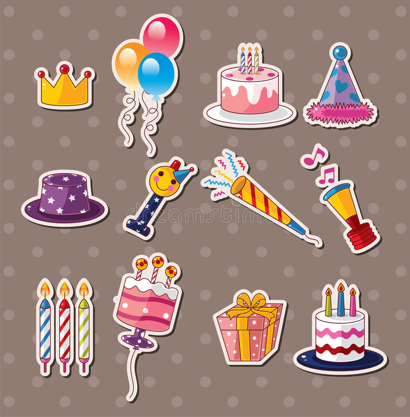 birthday photo stickers ; birthday-stickers-26696534