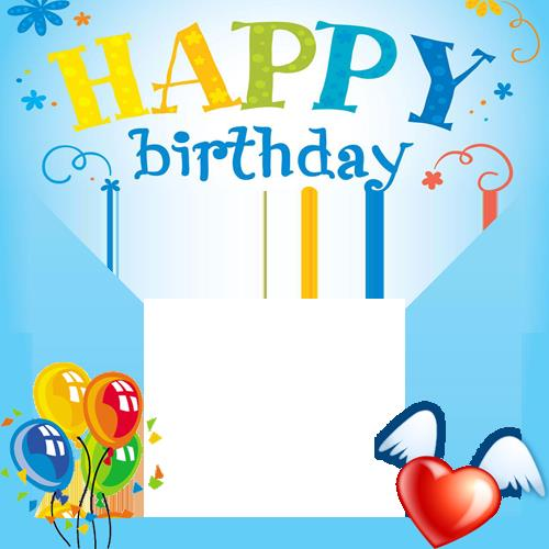 birthday picture frame images ; 145223649215
