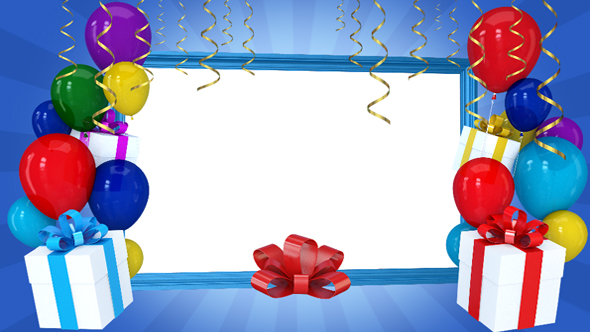 birthday picture frame images ; 590