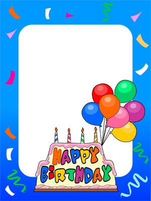 birthday picture frame images ; birthday6