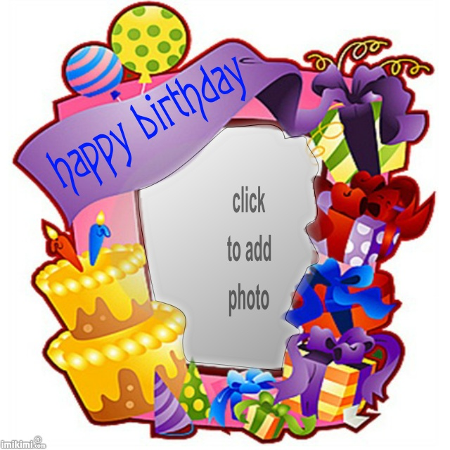 birthday picture frame images ; di9raMbbT