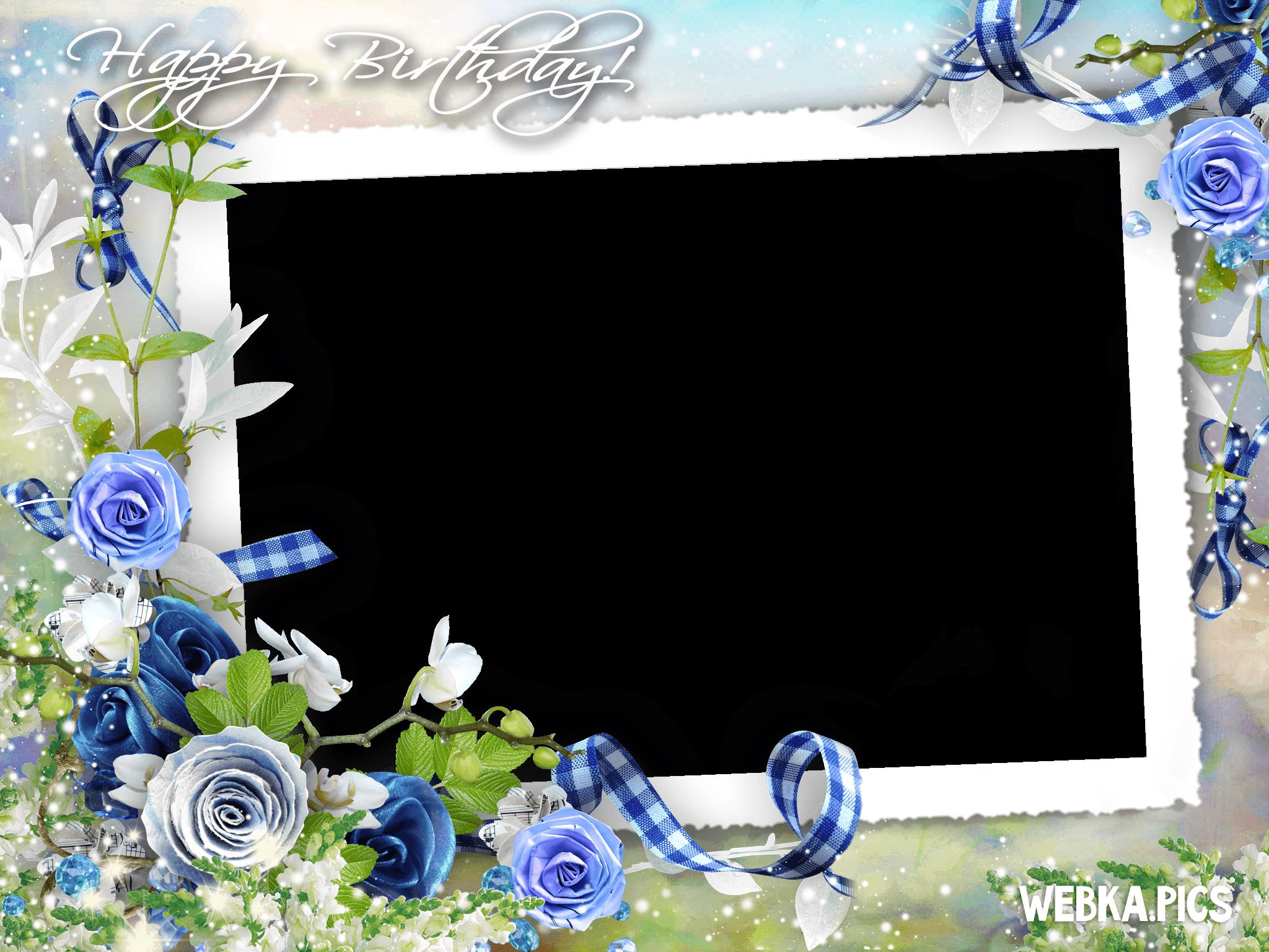 birthday picture frame images ; happy-birthday-photo-frame-picture-0