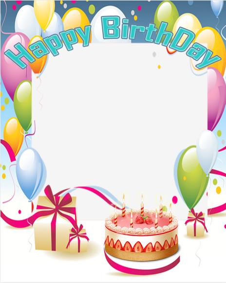 birthday picture frame images ; yckr9zzqi