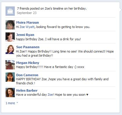 birthday picture messages for facebook ; index1