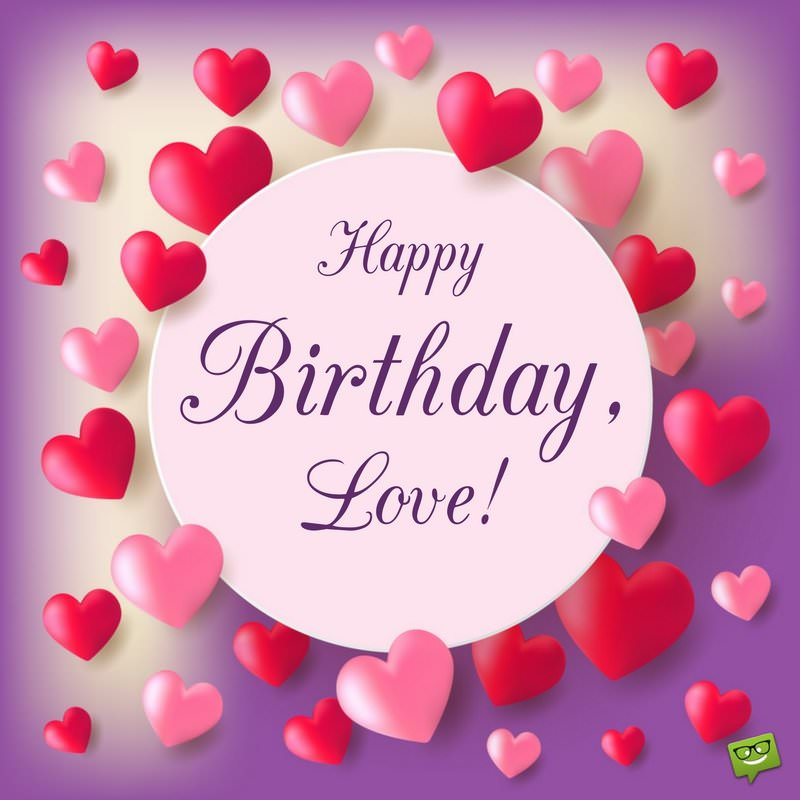 birthday picture messages for husband ; Happy-birthday-message-for-husband-on-card-with-hearts