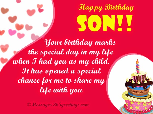 birthday picture messages for son ; happy-birthday-greetings-for-son