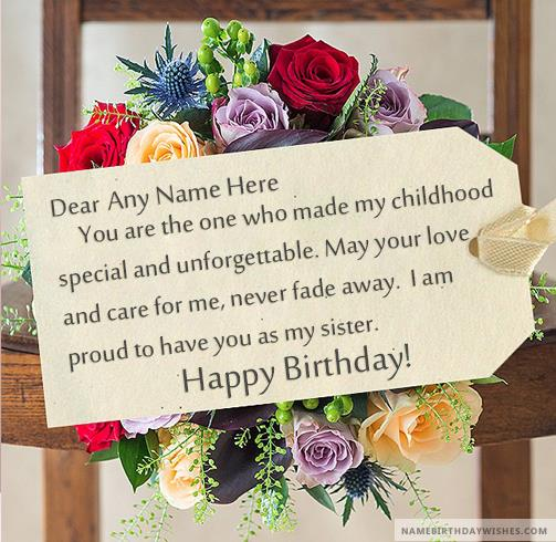 birthday picture messages with name ; flowers-happy-birthday-message-for-sister-with-name1989