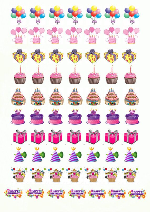 birthday planner stickers printable ; a0a199be0d81df24520223fb88449b55