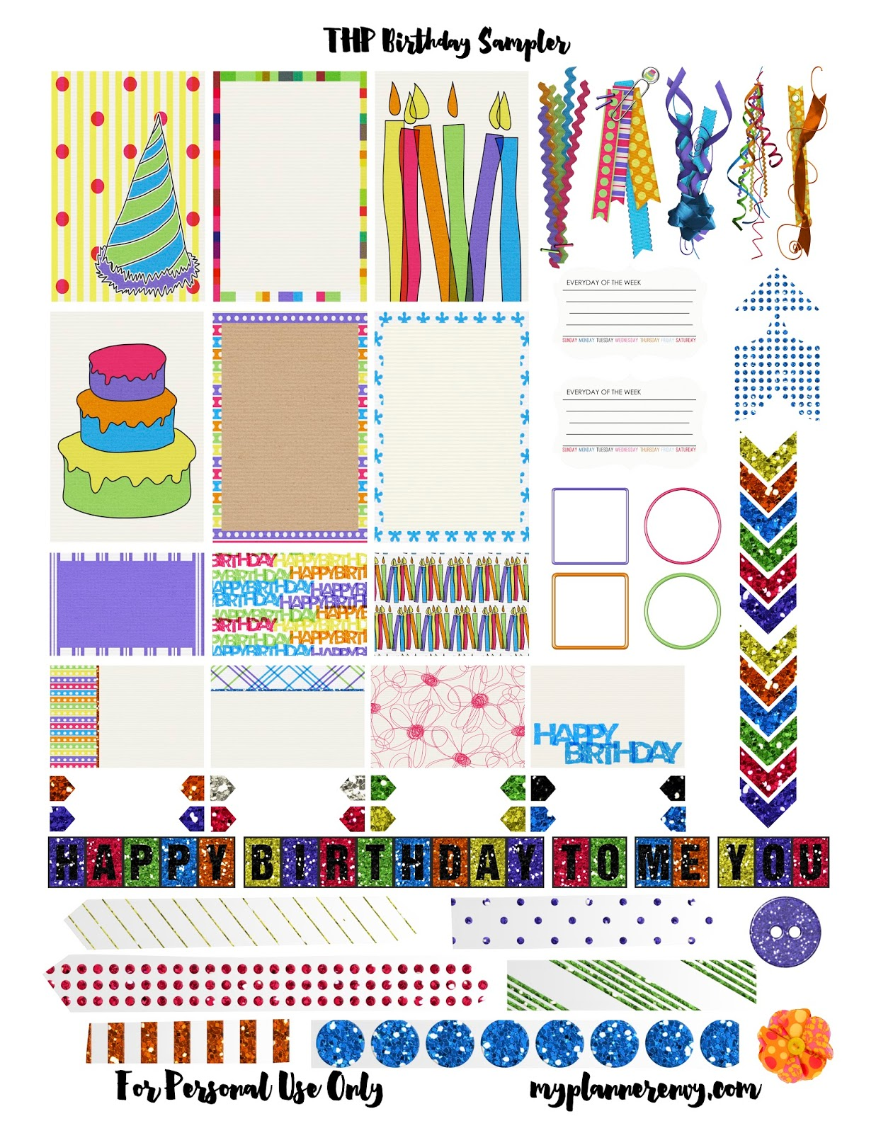 birthday planner stickers printable ; d7250335dc8ef2bddc23db8749a047f2