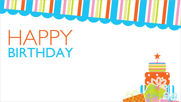 birthday poster design template ; Free-Birthday-Poster-Template