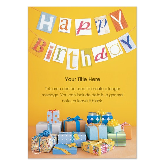 birthday poster design template ; interesting-create-a-birthday-poster-and-stunning-ideas-of-template-22-birthday-poster-templates-free-sample-posters-1
