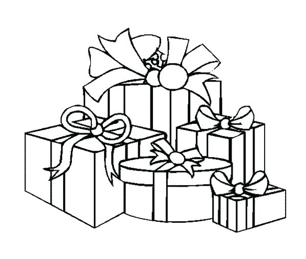 Birthday Present Coloring Page Best Happy Birthday Wishes