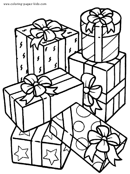 birthday present coloring page ; birthday-present-coloring-pages-color-bros-inside-birthday-present-coloring-pages