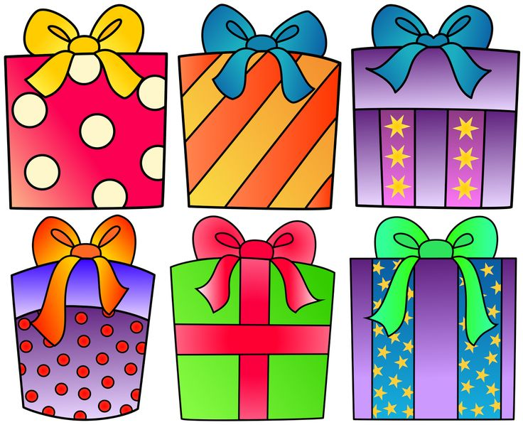 birthday present drawing ; Present-0-images-about-free-clip-art-on