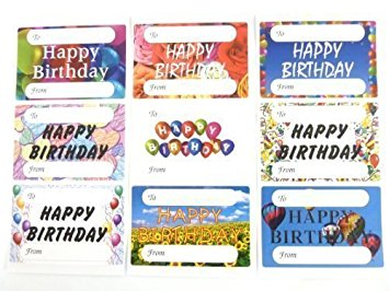 birthday present labels ; 51U1GVJKTAL