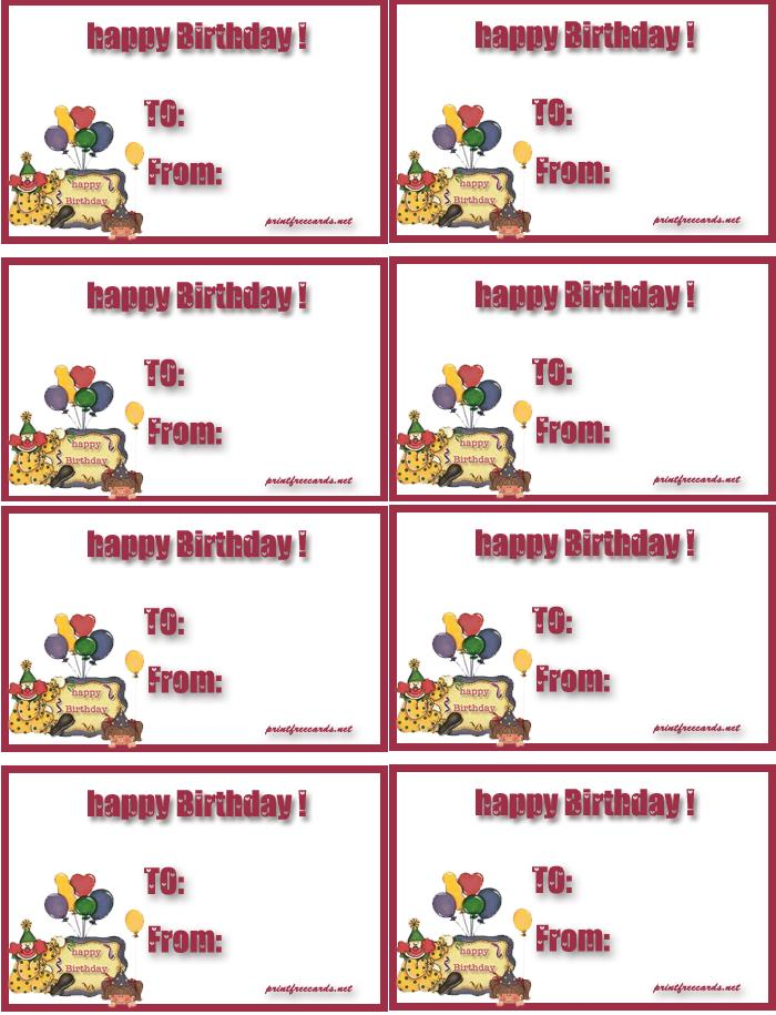 birthday present labels ; birthdaytags2