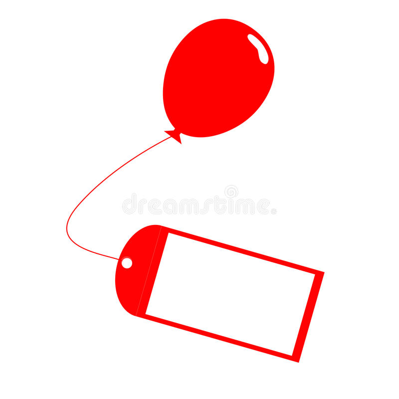 birthday present labels ; card-tied-to-balloon-means-present-label-meaning-birthday-message-40231372