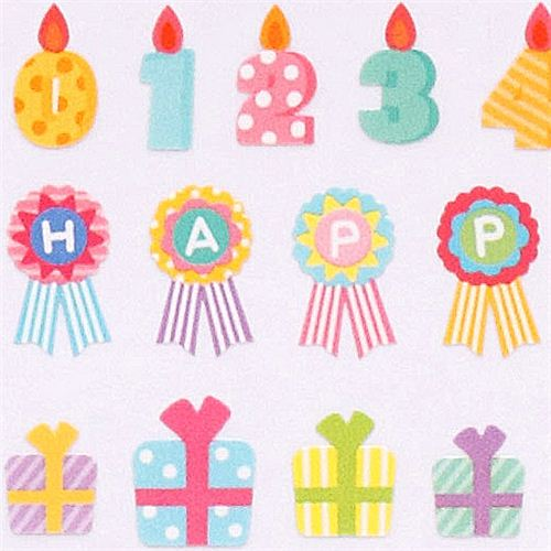 birthday present stickers ; Happy-Birthday-present-stickers-from-Japan-Crux-181900-3