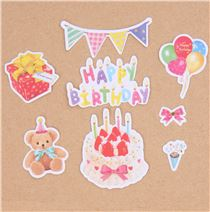 birthday present stickers ; cute-colorful-birthday-party-teddy-bear-present-sticker-sack-by-Q-Lia-209749-1