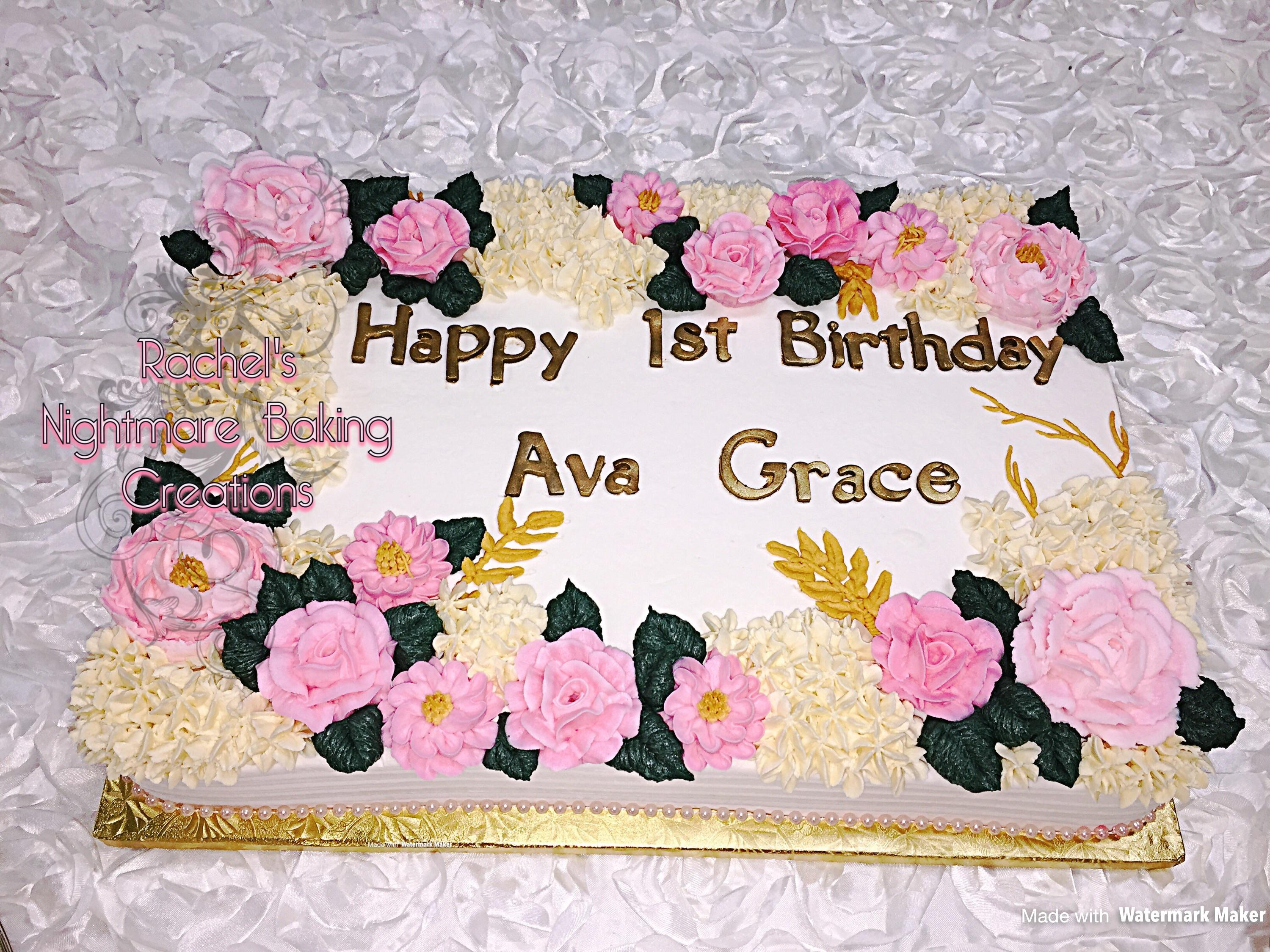 birthday sheet cake ; iv43rv04ytcz