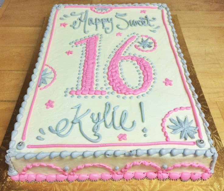 birthday sheet cake pictures ; 26-sparkler-birthday-candles-for-cakes-fresh-sweet-16-birthday-sheet-cake-by-mueller-s-bakery-of-26-sparkler-birthday-candles-for-cakes