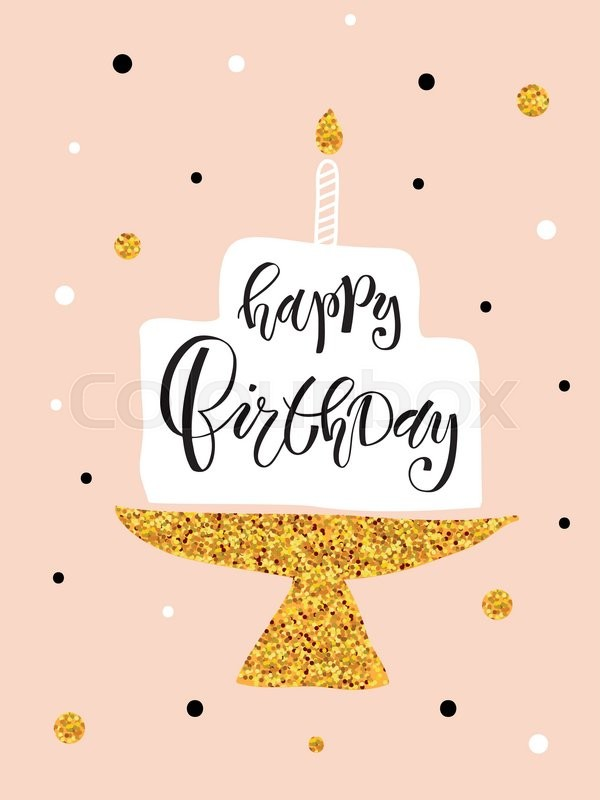 birthday sign template ; 18870195-happy-birthday-lettering-typography