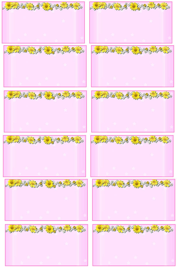 birthday souvenir tags template ; 42addresslabels14