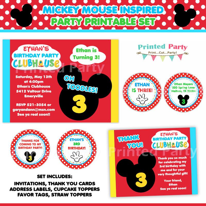 birthday souvenir tags template ; Mickey_Mouse_Party_Print_Your_Own