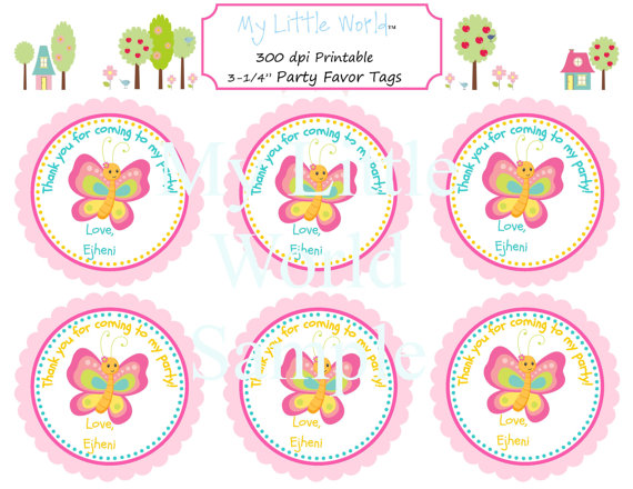 birthday souvenir tags template ; free-printable-favor-tag-butterfly_384643